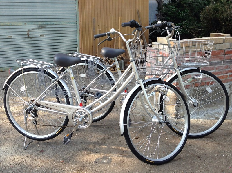 Rental Bicycles (JPY 400)